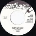 """Free Slaves - Digikiller - Us Forces Thats Not Right - Version X Early Digital 7"""" rv-7p-10243"""
