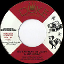 "Duke Reid - Treasure isle - Eu Sensations - Tommy Mccook - Supersonics Everyday is Just A Holiday - Rock Away X Oldies Classic 7"" rv-7p-11999"