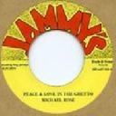 "Jammys - Dub Store - Japan Michael Rose Peace And Love in The Ghetto - Version Willow Tree Reggae Hit 7"" rv-7p-12438"