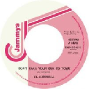 "Jammys - Dub Store - Japan Al Campbell Dont Take Your Gun To Town - Version X Early Digital 7"" rv-7p-13571"