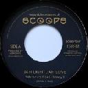 """Scoops - Uk Boney L - Vibronics Jah Light Jah Love - Version X Uk Dub 7"""" rv-7p-15529"""