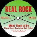 "Real Rock - Eu Dub Judah - Black Roots What Dem A Do - Jah Jah Dub X Reggae Hit 7"" rv-7p-15740"