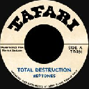 "Tafari - Fr Heptones - Baba Leslie Total Destruction - Revolution X Oldies Classic 7"" rv-7p-15796"