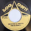 "Log On - Uk Martin Campbell ignorance And Poverty - Dub X Reggae Hit 7"" rv-7p-15840"