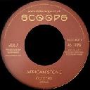 "Scoops - Uk Vibronics African Stone - Version X Uk Dub 7"" rv-7p-15907"