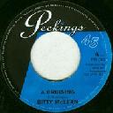 "Peckings - Uk Bitty Mclean A Cruising - Baby Tonight X Reggae Hit 7"" rv-7p-16013"