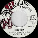 "Horus - Uk Winston Reedy - Horus All Stars Those Days - Ras Anthem Dub X Reggae Hit 7"" rv-7p-16080"