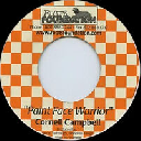 """Roots Foundation - Us Cornell Campbell Paint Face Warrior - Version Jah Fire Throne Reggae Hit 7"""" rv-7p-16102"""