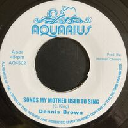 """Aquarius - Uk Dennis Brown - U Roy Songs My Mother Used To Sing - Linger You Linger Song My Mother Used To Sing Oldies Classic 7"""" rv-7p-16191"""