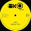 "Eko - Rightrack - Uk Carlene Davis God is - Version Dub Fire Reggae Hit 12"" rv-12p-02963"