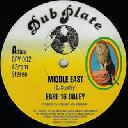 "Dub Plate - Uk Earl 16 - Dubmasta Middle East - Middle East Dub X Reggae Hit 12"" rv-12p-03133"